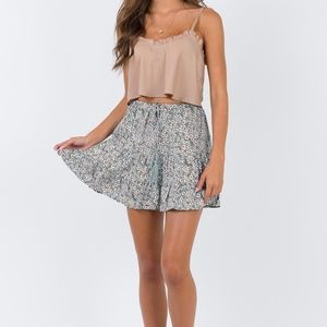 Princess Polly Floral Skirt
